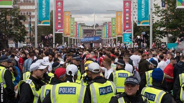 , 90 people arrested at England Euro 2020 games, new figures reveal, The Evepost BBC News