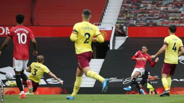 Mason Greenwood has scored in three consecutive Premier League appearances