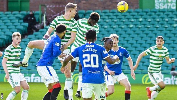 The Old Firm have met on three occasions so far this term, with Rangers winning twice