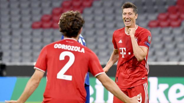 Bayern Munich 4 1 Chelsea Frank Lampard S Side Lose 7 1 On