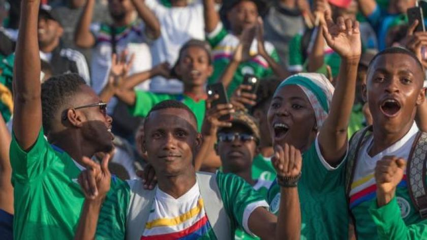 Comoros fans