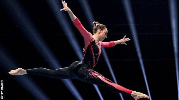 German gymnast Sarah Voss