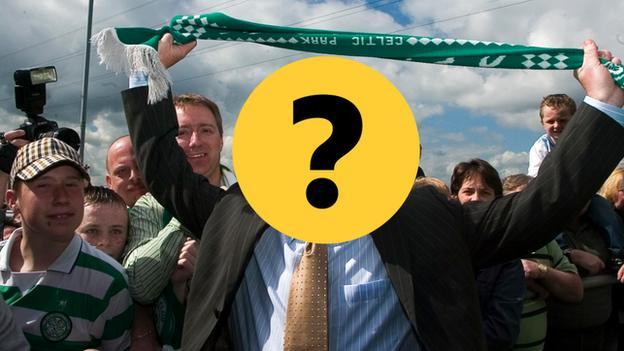 Celtic manager quiz graphic