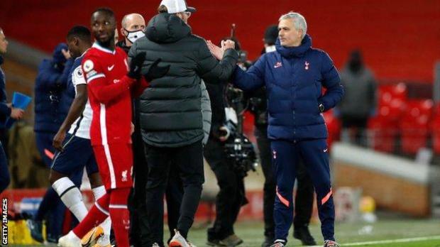 Jurgen Klopp and Jose Mourinho