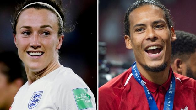 Uefa Player of the Year: Lucy Bronze and Virgil van Dijk win awards 1