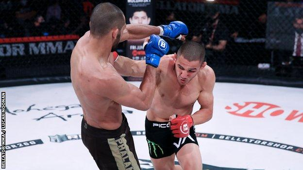 Aaron Pico fights Aiden Lee at Bellator 260
