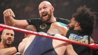 Image result for Tyson Fury v Braun Strowman: Heavyweight boxer clashes with WWE wrestler