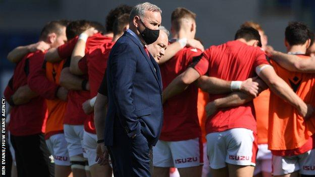 Wales coach Wayne Pivac spent five years at Scarlets before taking over from Warren Gatland in 2019
