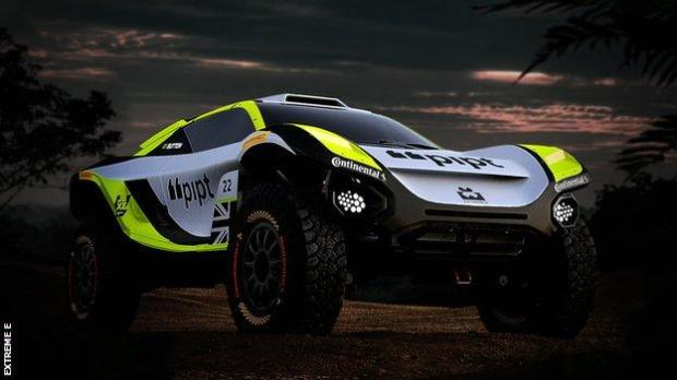 JBXE Extreme E car