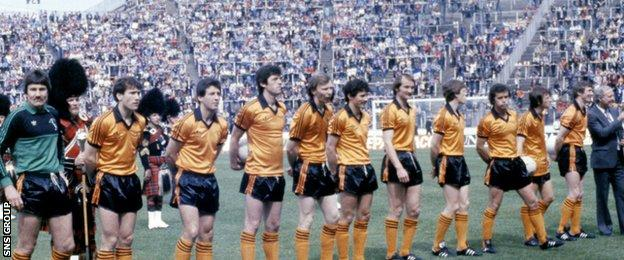 United were regulars in finals under McLean, winning the League Cup twice but finishing as runners-up six time in the Scottish Cup