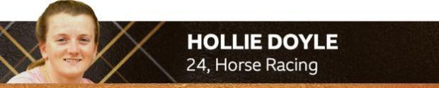 Hollie Doyle, 24, horse racing