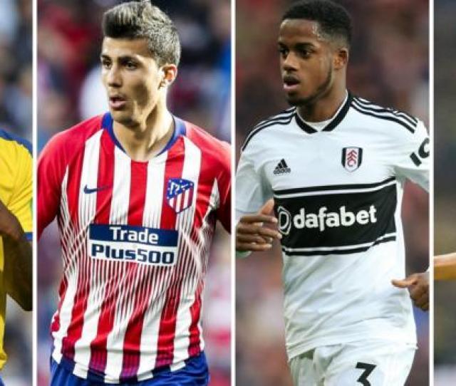 Man City Liverpool Chelsea Spurs Arsenal Man Utd Top Six Transfer Targets Bbc Sport