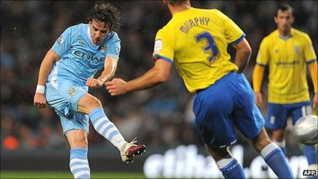 Man City 2 0 Birmingham Bbc Sport