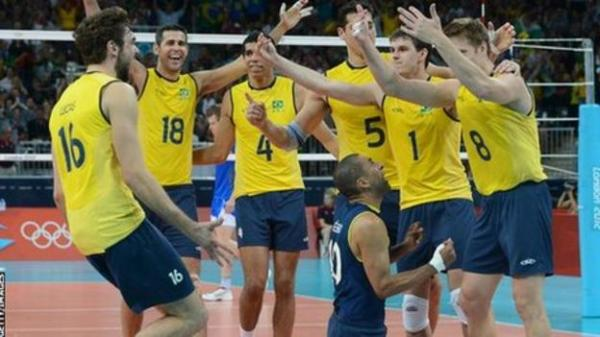 Olympics volleyball: Brazil face Russia in men's final ...