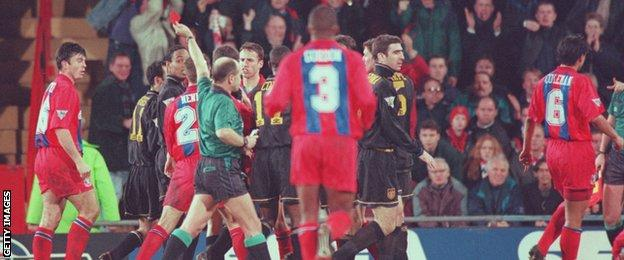 Whatever language they use to you. Eric Cantona S Kung Fu Kick The Moment That Shocked Football Bbc Sport
