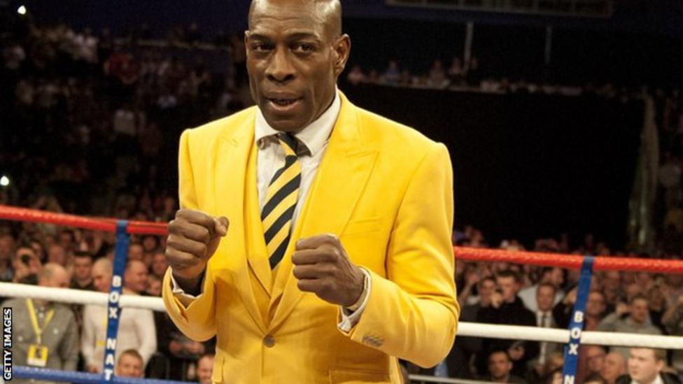 Frank Bruno has been training with Ricky Hatton in recent weeks