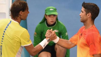 Rafa Nadal and Fernando Verdasco