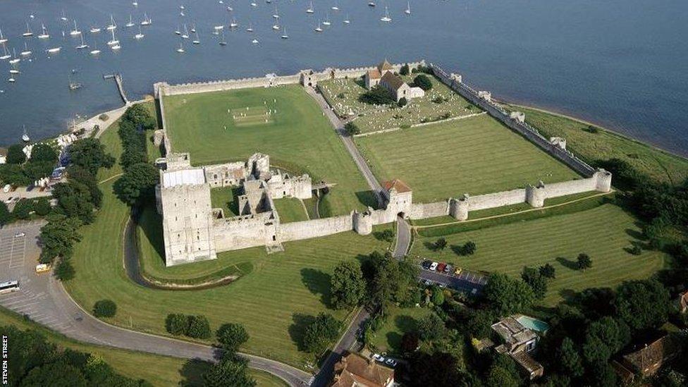 Portchester Castle, Hampshire