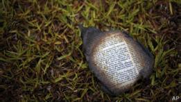Biblia quemada