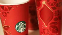 Antiguas tazas navideñas