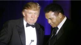 Donald Trump y Muhammad Ali.