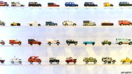 Modelos de juguete de vehículos Defender