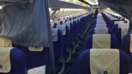 Avión desocupado