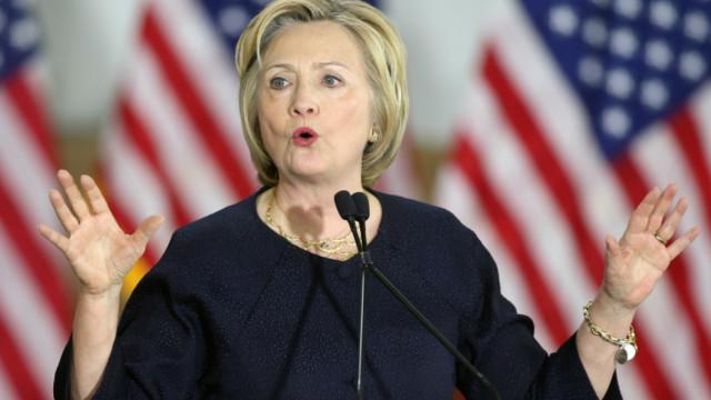 Bà Hillary Clinton, ứng viên Tổng thống Mỹ của đảng Dân chủ
