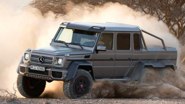 Mercedes-Benz G63 AMG 6x6 (Credit: Photo: Daimler)
