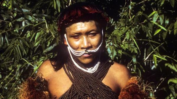 A member of the Yora tribe from the border between Bolivia and Peru - 1986 (Kim Hill) (Credit: Kim Hill)