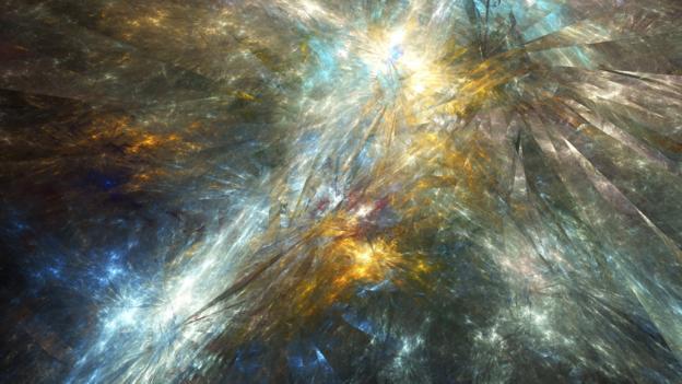 Loop quantum gravity says that space itself is fractured (Credit: Equinox Graphics/SPL)