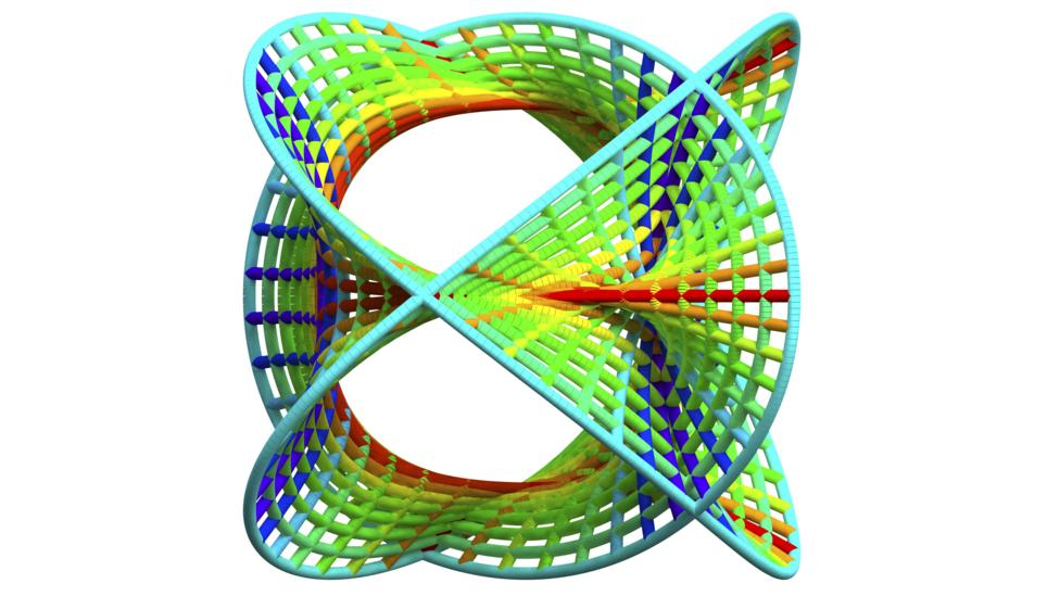 Extra dimensions could be curled up (Credit: Pasieka/Science Photo Library)