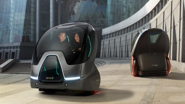 Bbc Future The Cars We Ll Be Driving In The World Of 2050