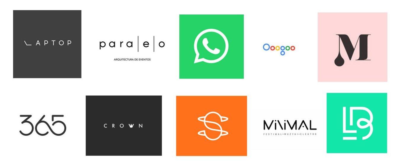минимализм лого примеры