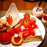 イチゴ探偵|完売したマーブルラウンジの苺ブッフェがメトロポリタングリルでも食べ放題可能!ステーキも食べられるスマートランチ