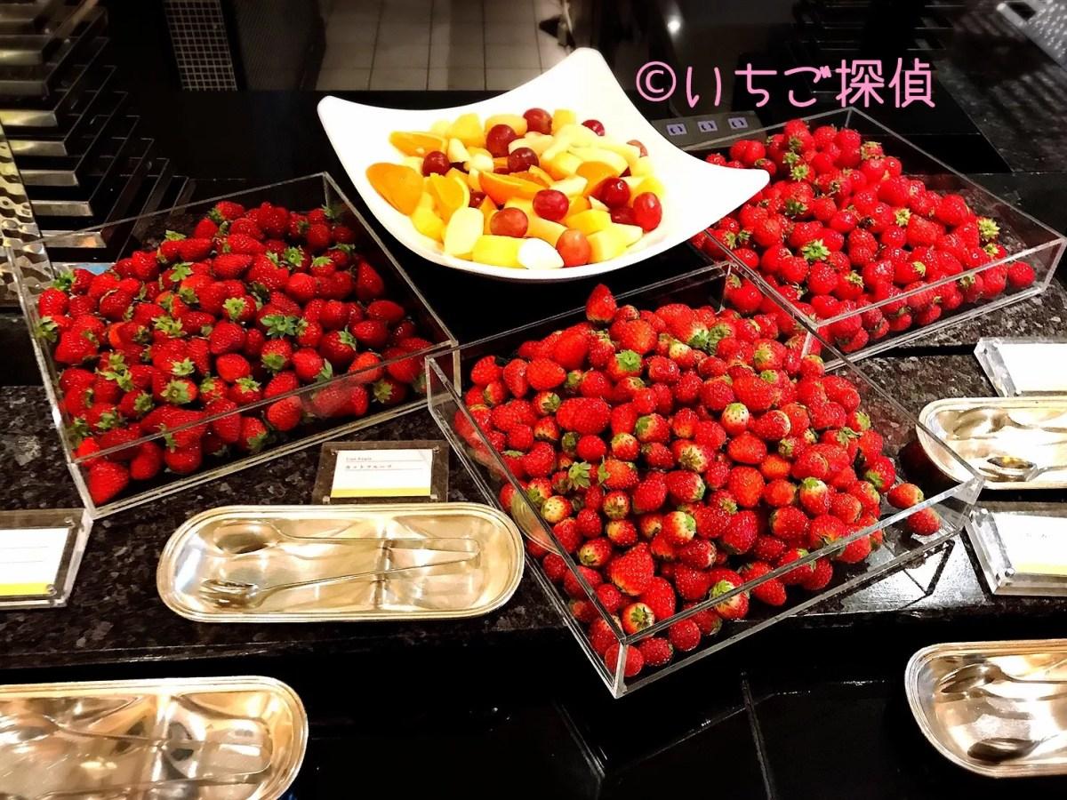 ザ・テラスで【あまおう】【さちのか】【とちおとめ】食べ放題!ウェスティンホテル東京のストロベリーデザートブッフェ①