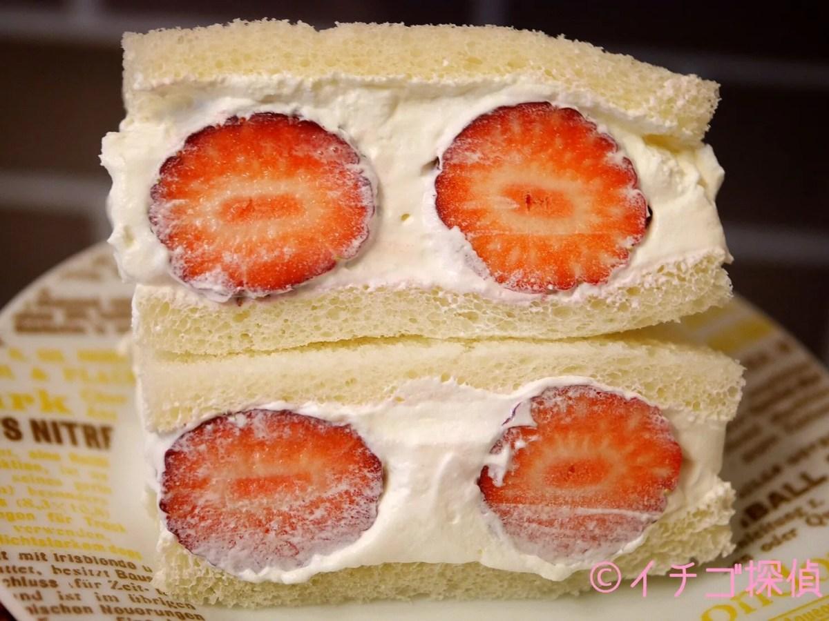 イチゴ探偵|長野県産【しなのベリー】と白いちご【淡雪】のイチゴサンドを作ってみました!