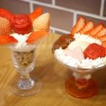 イチゴ探偵|苺使用のおうちパフェ!食事系パスタパフェから白いちごジャムのパフェまで!その他の食材の食事パフェも!