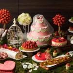 「ストロベリー・ウエディングパーティー」コンラッド大阪の新郎新婦いちごが可愛い新デザートブッフェ!