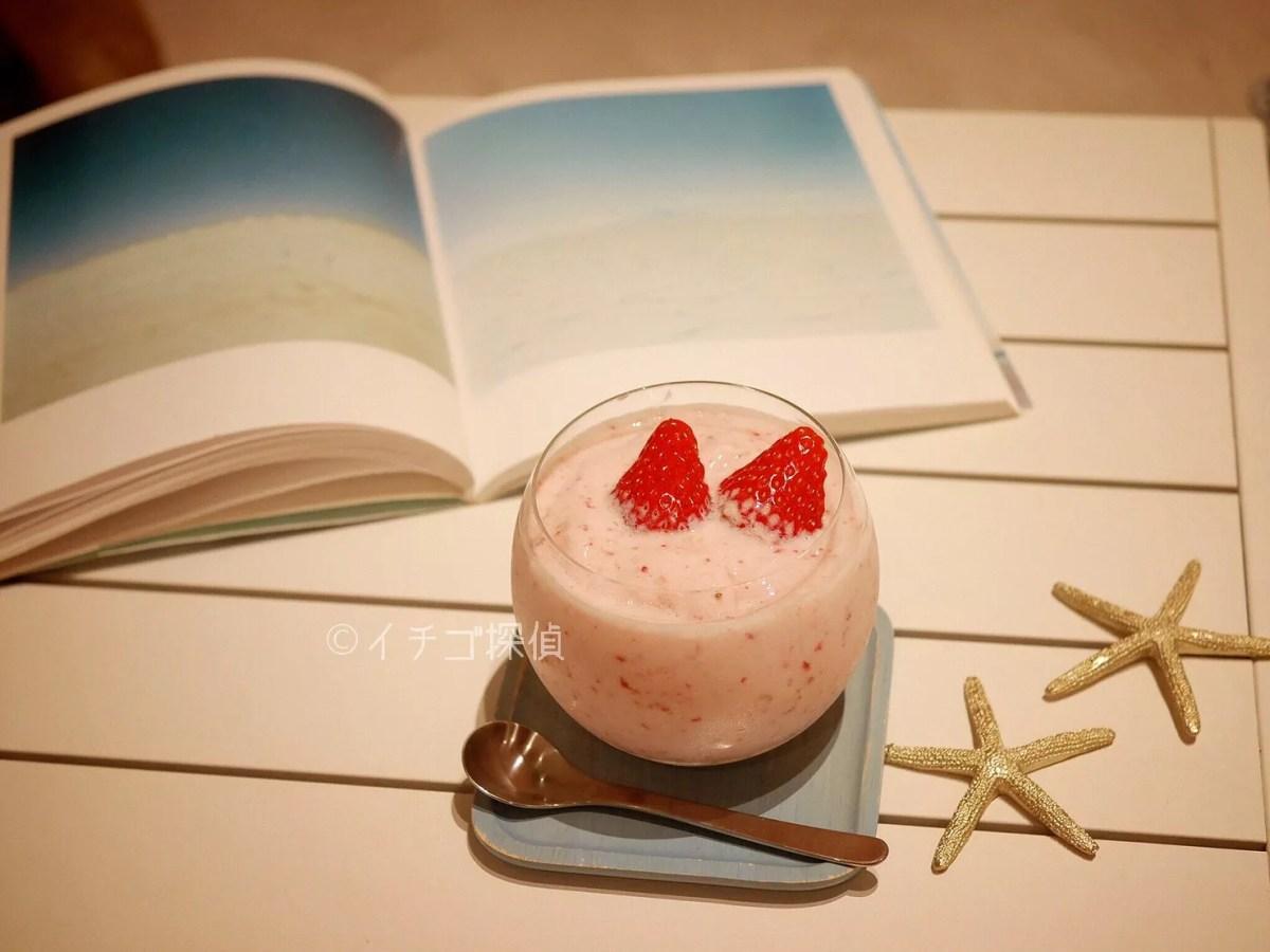 リゾナーレ熱海「ソラノビーチ」でイチゴと洋梨のスムージー!トリプルクリスマスも満喫!