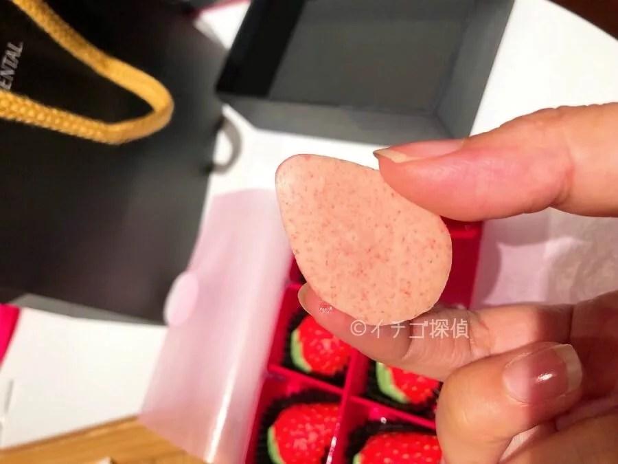 イチゴ探偵|リアルな苺型チョコを実食!ANAインターコンチネンタル東京「ピエール・ガニェール パン・エ・ガトー」