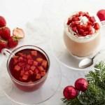 タリーズコーヒー「&TEA ストロベリーロイヤルミルクティー」苺のショートケーキのような季節限定ドリンク!