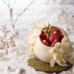 チョコ細工が素敵!ホテル阪急インターナショナルのプレミアム・クリスマスケーキ!