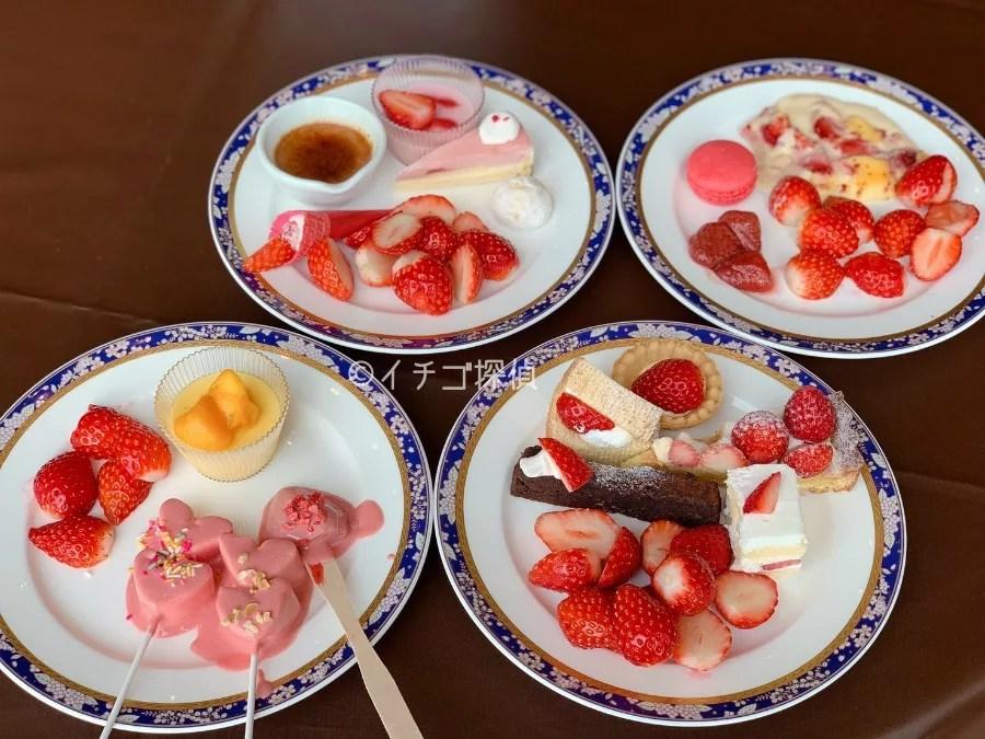 【鎌倉プリンスホテル】いちごビュッフェを実食「ストロベリースイーツ&ライトミールブッフェ2019」