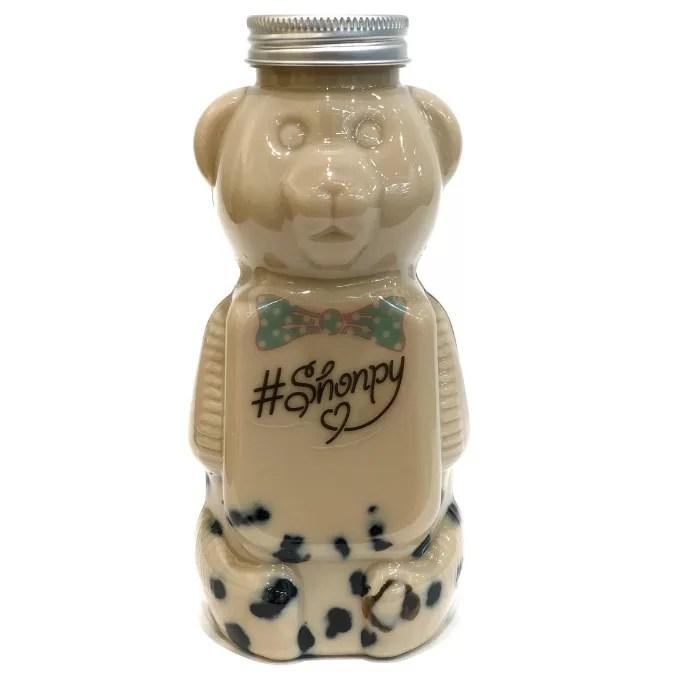【Shonpy 原宿店】くまボトルのいちごみるくタピオカドリンクが可愛い!