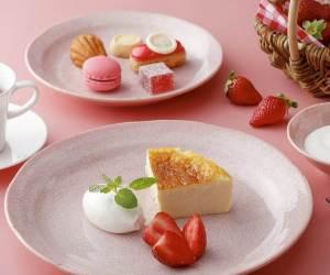【セントレジスホテル大阪】いちごビュッフェにヴァローナチョコレートと苺のアフタヌーンティー