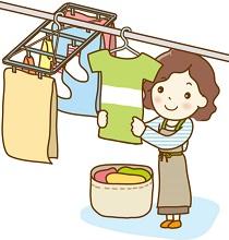 1階の洗濯物の対策はこれでバッチリ!強風で飛ぶときの対策とは?