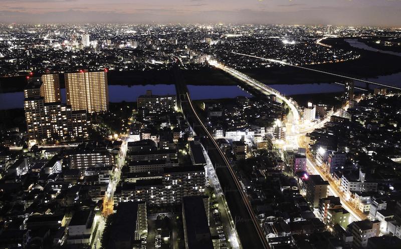 《ライトダウンイベント》アイ・リンクタウンからの夜景が一層綺麗に鑑賞できます!