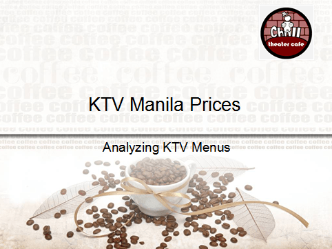 KTV Manila Prices