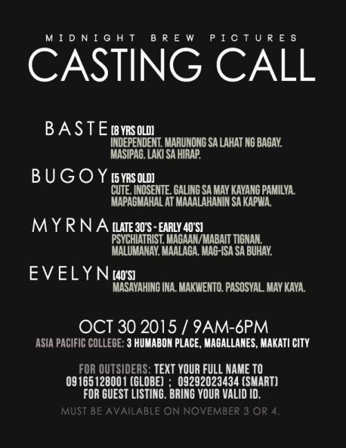 Philippine Auditions 28 October 2015